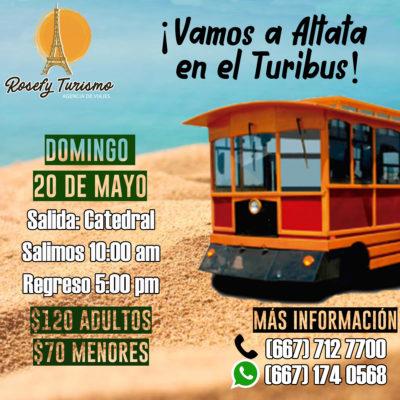 ¡Altata domingo 20 de mayo!