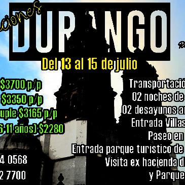 Durango y Mexiquillo Verano