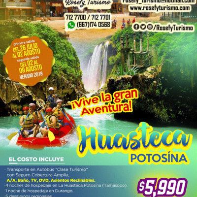 ¡Huasteca Potosína! 02 al 09 de agosto