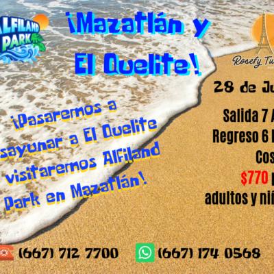 ¡Mazatlán y El Quelite! Verano 2019