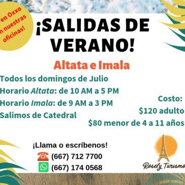 ¡ALTATA E IMALA! Verano 2019